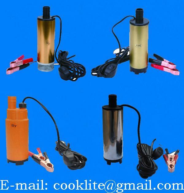 Bomba para óleo diesel / Bomba sumergible de combustible diesel agua - 12/24V