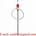 Bomba trasvasije manual de aceite / Bomba extractora de plástico para cubetas