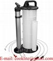 Manuelle druckluft absaugpumpe für öl und flüssigkeiten vakuumpumpe absauggerät 9 liter