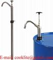 Pompa manuala cu piston pentru butoi / Pompa ulei manuala metalica