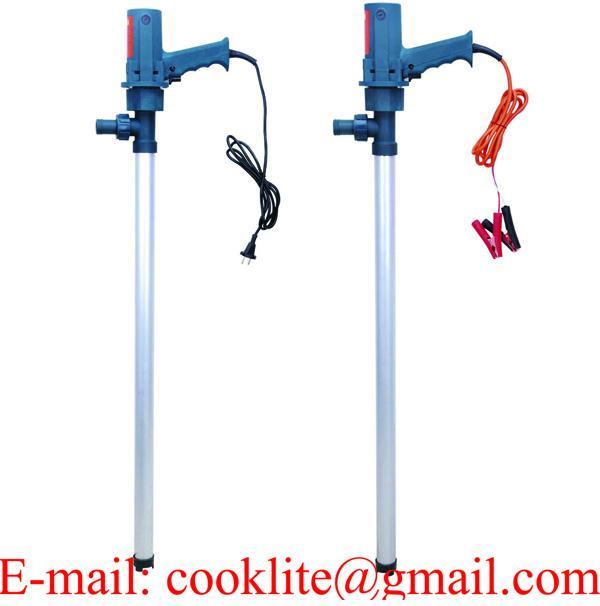 Mazot Sıvı Aktarma Transfer Pompası / Varil Pompası Elektrikli