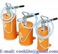 Olieafgifte unit manuele vetpomp draagbaar