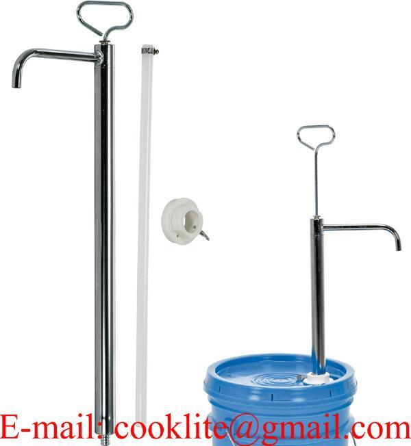 Ruční pístové zdvihové sudové čerpadlo / Ruční kovové čerpadlo