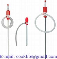 Brændstofresistent hævertpumpe håndpumpe fadpumpe i plast