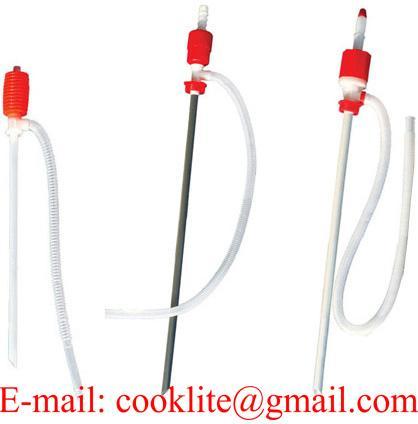 Plastmasas rokas sūķnis pumpis / Sifona sūknis paredzēts šķidrumu izsūkšanai