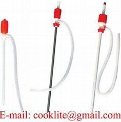 Plastmasas rokas sūķnis pumpis / Sifona sūknis