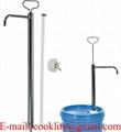 Rokas pumpis šķidrumu pārsūknēšanai / Metāla rokas pumpis eļļai