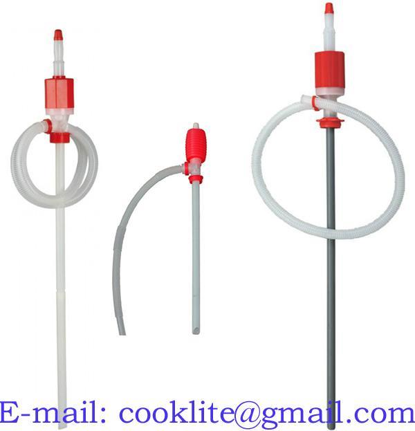 Plastik sifoonpump / Vedeliku käsipump oli pumpamiseks 5-200L vaadile