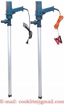 Электрический бочковой насос перекачки топлива