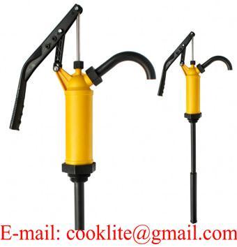 Бочковый рычажный насос для перекачки жидкостей / Универсальный телескопический ручной насос