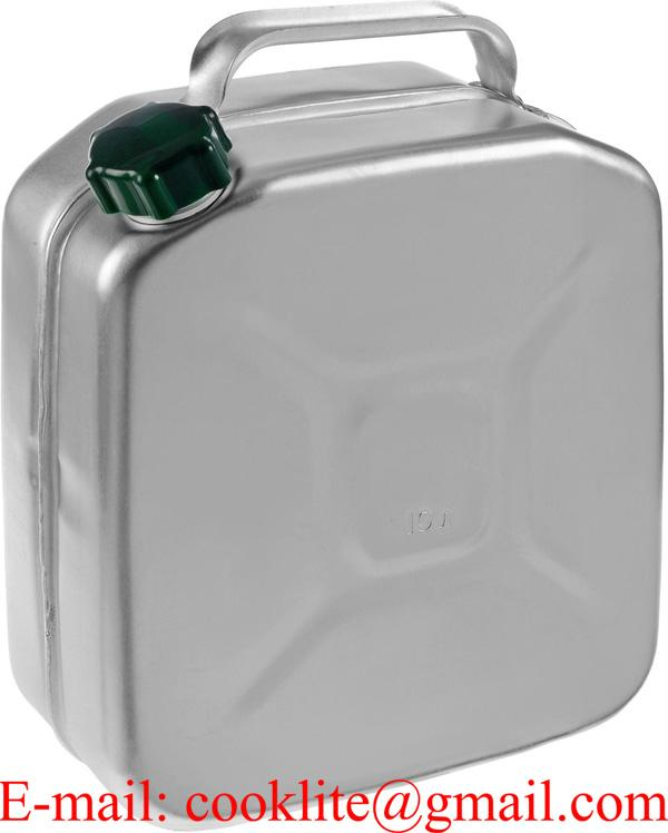 Aluminum Jerry Can For Storage And Transportation Of Gasoline And Other  Liquid fuels 10L