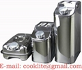 Premium 304 Stainless Steel Jerry Can 10L Water/Fuel Storage Motorbike Boat 4WD