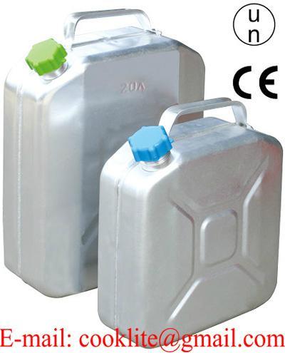 Canistra din aluminiu pentru depozitat carburant/combustibil