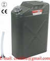 Transportjerrycan / veiligheidsjerrycan van staal voor opslag en vervoer van brandstof
