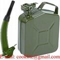 Μπιτόνι / δοχείο 5 λίτρων μεταλλικο βενζινης στρατου