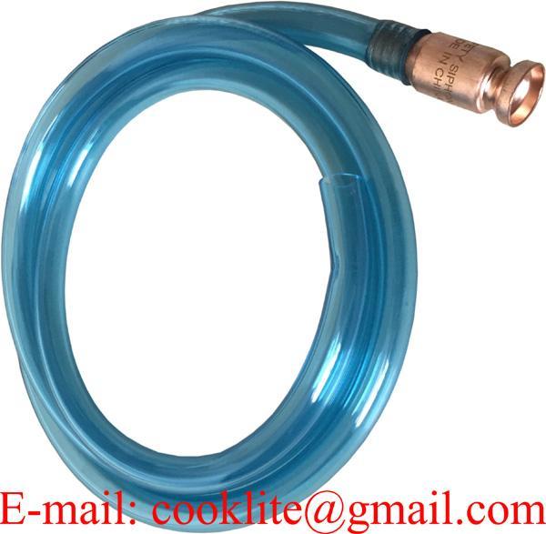 Jiggle Siphon Liquid Transfer Hose Brass Shaker Syphon Pump Fuel Solvent Water