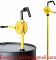 Chemical Drum Pump Anti Corrosion Rotary Hand Pumps Diesel Fuels Petrol Methanol