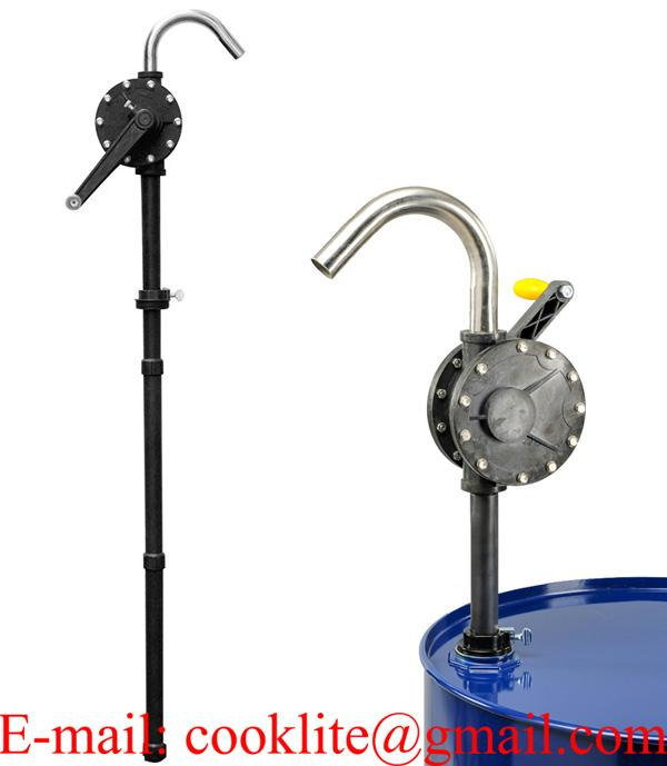 Polypropylene Rotary Chemical Hand Pump with Ryton Veins.