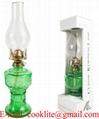L555 Colored Kerosene Oil Lamp
