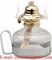 Kerosene Lamp with Metal Handle