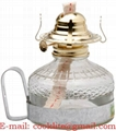 Clear Glass Kerosene Oil Lamp With Handle