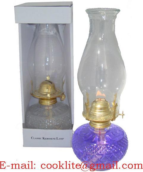 Vintage /Antique Kerosene Oil Lamp
