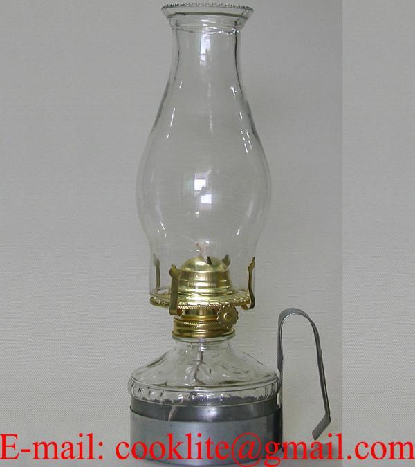 Vintage Farms Lamplight Kerosene Oil Lamp With Metal Handle