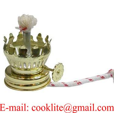 Miniature Kerosene Oil Lamp Burner