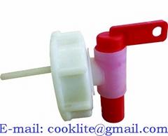 DIN 51 Aeroflow Self Venting Drum Cap Tap Plastic Dispensing Pail Faucet
