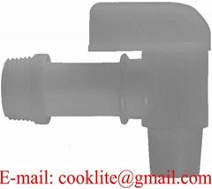 "3/4"" BSP Thread Polyethylene Pail Faucet Plastic Drum Spigot"