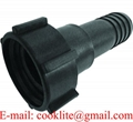 "RFPP IBC Adapter DIN 61 Adaptor with 1-1/2"" Hose Barb"