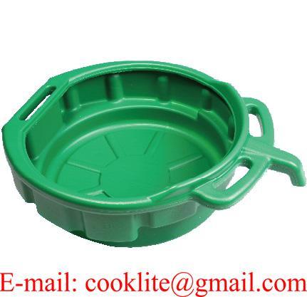 10 Litre PE Plastic Fluid Oil Drain Drip Pan