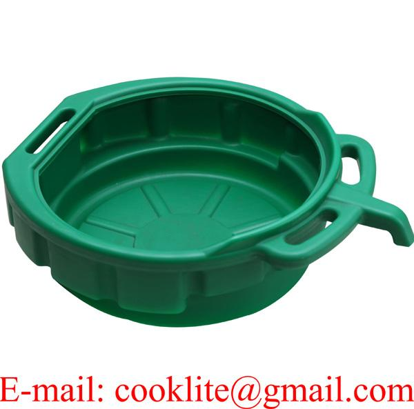15 Liter Plastic Oil/Coolant Drain Pan with E-Z Grip Handles