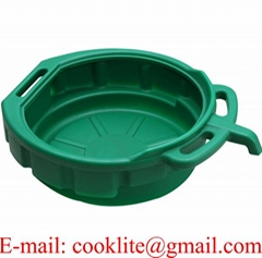 15L PE Plastic Oil Recycler Drain Pan Fluid Water Drip Tray