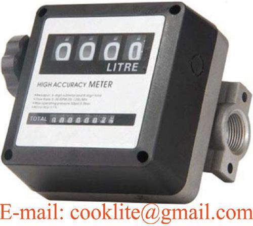 Υψηλή επίδοση 4 - ψηφιακός μηχανικός μετρητής ροής καυσίμων
