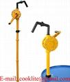 Vevpump i polypropylen för överföring / Manuell fatpump med vev för kemikalier