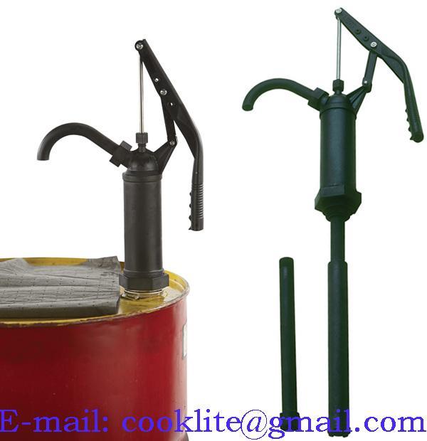 Hävarmspump Handpump Kolvpump Teflonpackning 60-220l fat för många kemikalier,starka syro