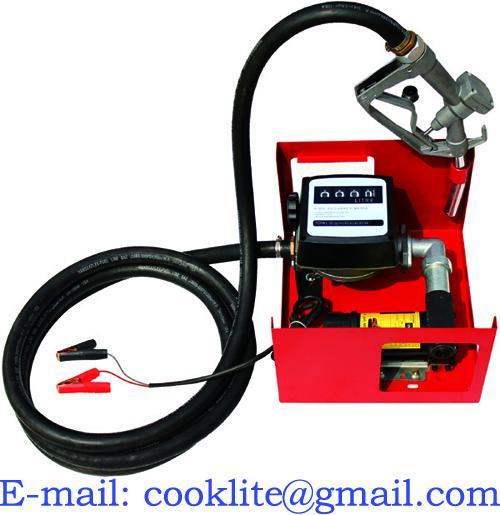 Pompa transfer motorina cube 45L/Min 12v
