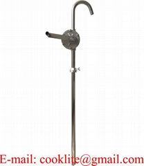 304 Stainless Steel Rotary Chemical Drum Pump with Teflon Seals