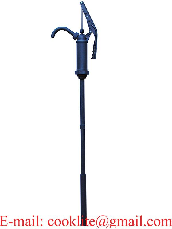 R-490S Lever action drum pump with ryton body / 316 stainless steel rod Poly / Propylene piston & spout