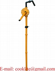 RP-90P PP Hand Rotary Drum Pump for Dispensing Chemicals