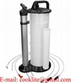 Fluid evacuator pump hand operated engine oil change oil remover 9L