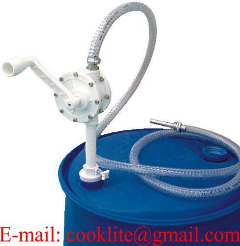 Drum Mounted Polypropylene (PP) Manual Rotary AdBlue Pump Kit