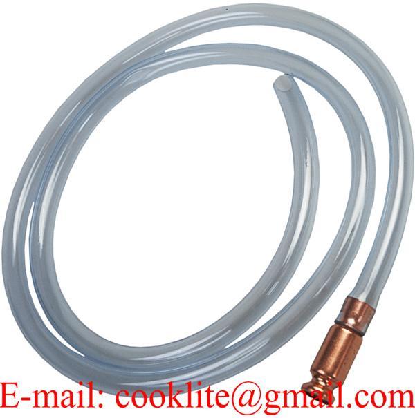 Safety Shaker Siphon Hose - Safe Multi-Purpose Self Priming Brass Jiggler Syphon Pump