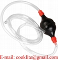 Rubber Ball Style Syphon Pump And 180cm Tube For Liquid Transfer Self Priming Siphon Hose