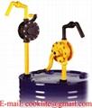 Ruční klikové rotační sudové čerpadlo na kyseliny a louhy