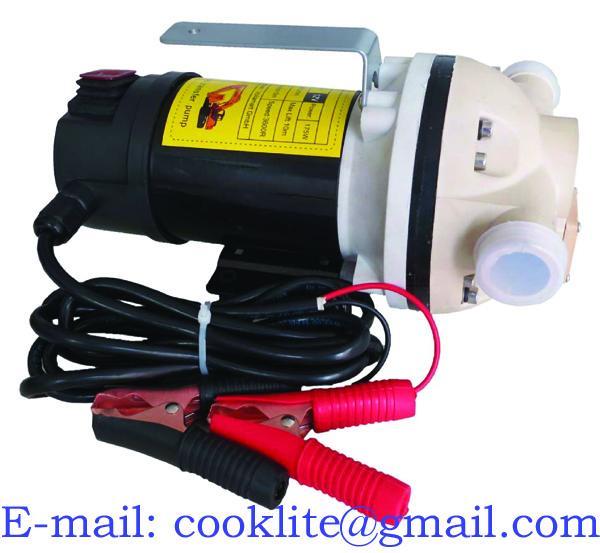 Akumulátorové čerpadlo na Ad-blue 12 V