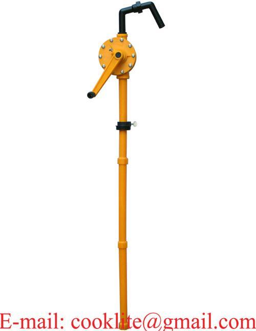 Bomba trasiego manual rotativa para bidón / Bomba de trasvasije de Polypropileno