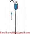 Bomba trasvase palanca cromada para tambor / Bomba manual para trasvasar combustible