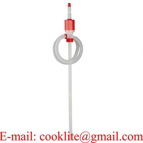 Pompe Polyethylene à poussoir pour détergents et produits chimiques peu agressifs